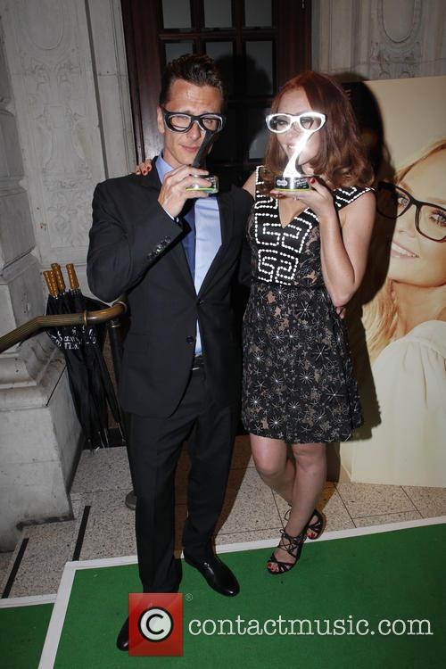 Ritchie Neville and Natasha Hamilton 1