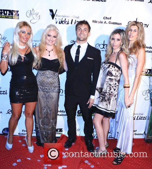 Sabrina A. Parisi, Vikki Lizzi, Matt Bolton, Aubry Fisher and Cristina Marcantonio 1