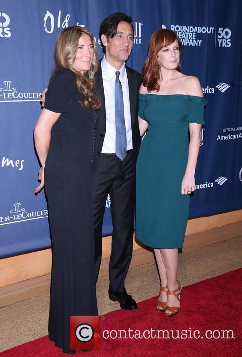 Eve Best, Clive Owen and Kelly Reilly 2