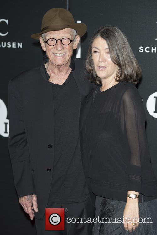 John Hurt and Anwen Rees-myers 2