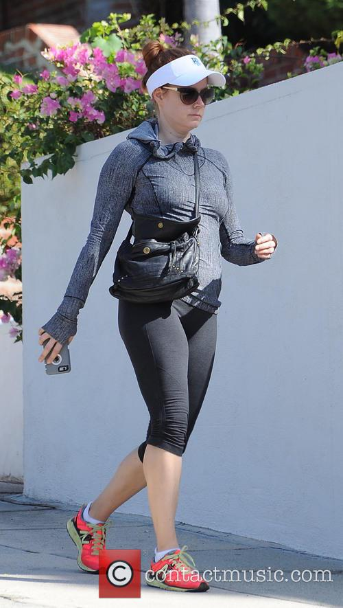 Amy Adams seen out hiking in Los Angeles