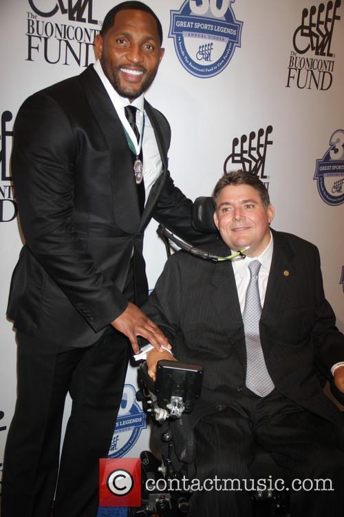 Ray Lewis and Marc Buoniconti 1
