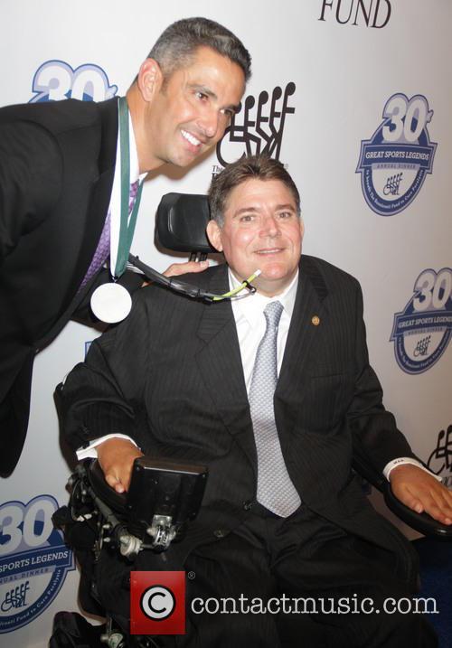 Jorge Posada and Marc Buoniconti 1