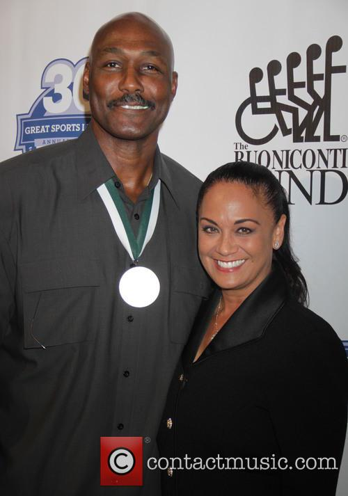 Karl Malone and Kay Malone 1