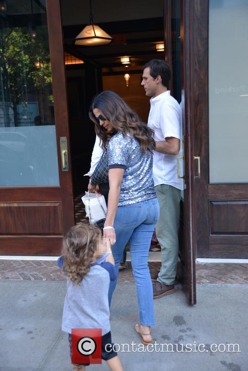 Livingston Alves Mcconaughey and Camila Alves 1