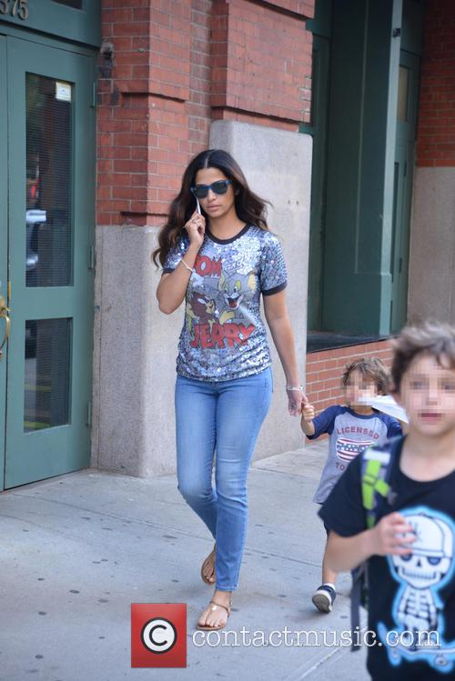 Livingston Alves Mcconaughey and Camila Alves 7