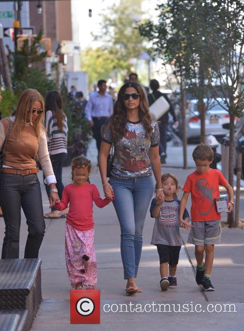 Camila Alves returns to The Greenwich Hotel with...