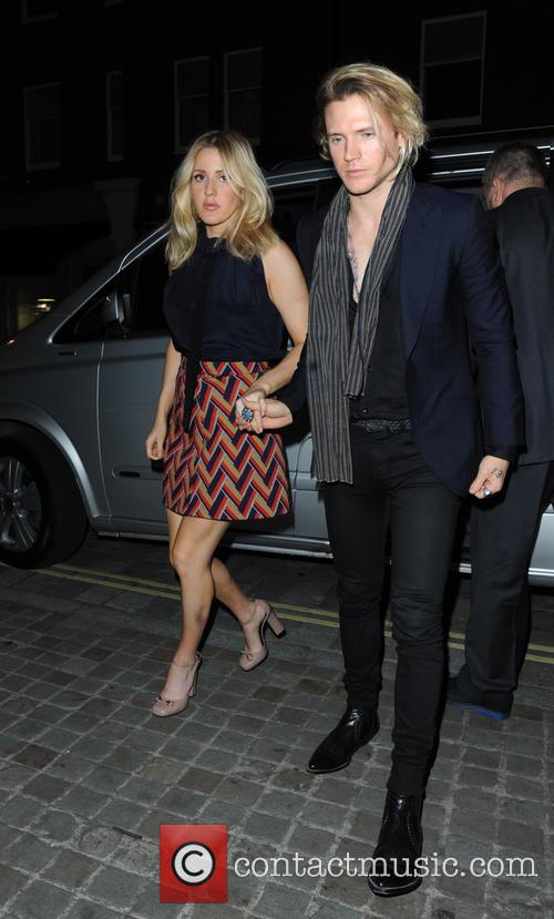 Ellie Goulding and Dougie Poynter 7
