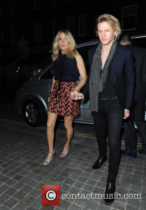 Ellie Goulding and Dougie Poynter 9