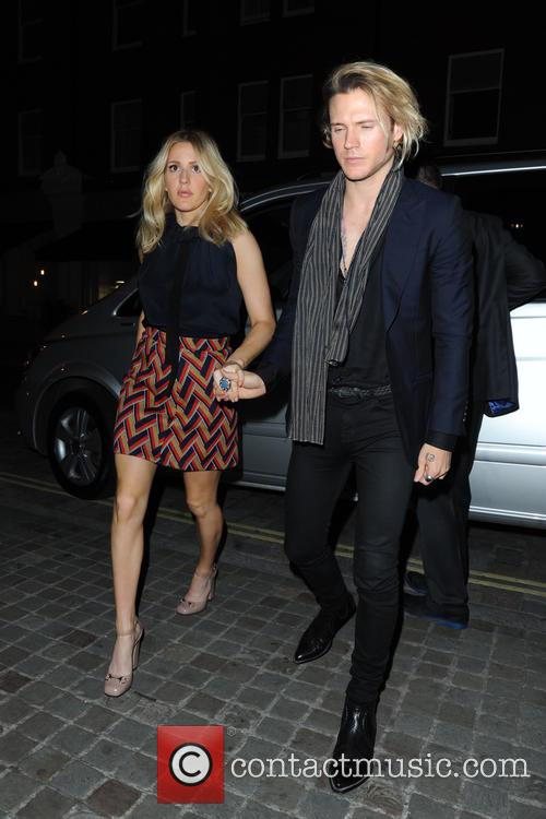 Ellie Goulding and Dougie Poynter 10