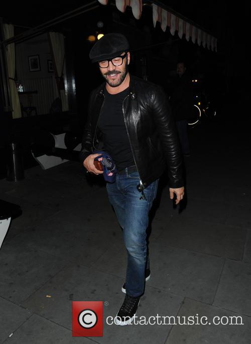 Celebrities at Chiltern Firehouse in Marylebone