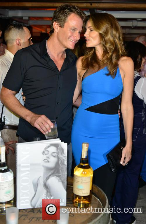 Rande Gerber and Contestant 1