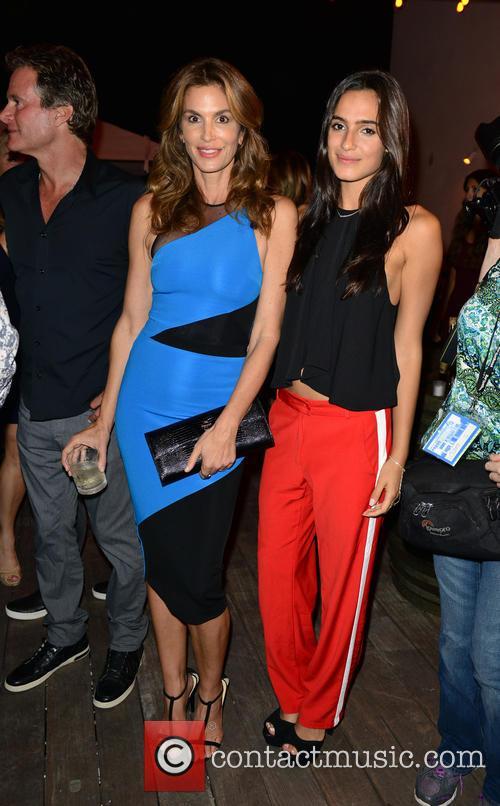 Cindy Crawford and Isabela Rangel