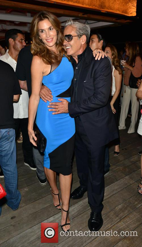 Cindy Crawford and Oribe Canales 2