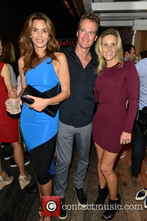Cindy Crawford, Rande Gerber and Guest 1