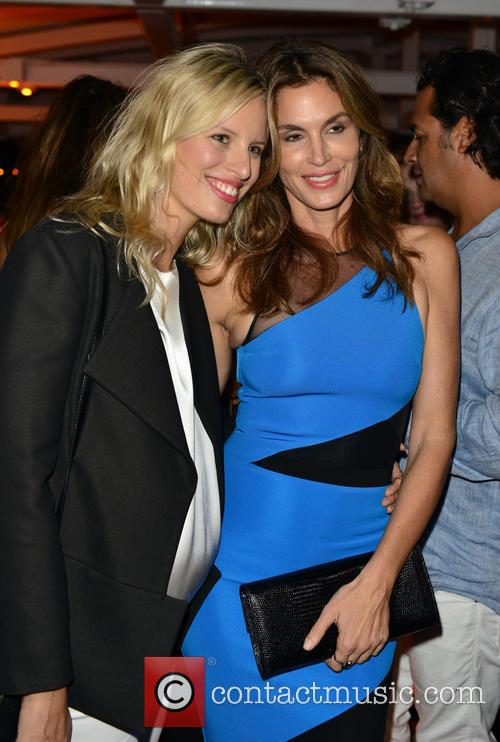 Karolina Kurkova and Cindy Crawford 1