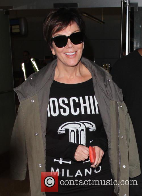 Kris Jenner and Corey Gamble arrive at Los...