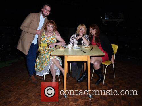 Paul Taylor-mills, Kellie Maloney and Amy Anzel 2