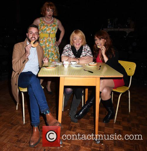Paul Taylor-mills, Kellie Maloney and Amy Anzel 3