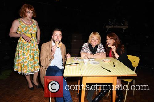 Paul Taylor-mills, Kellie Maloney and Amy Anzel 1
