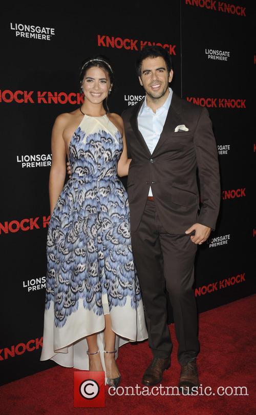 Lorenza Izzo and Eli Roth 2
