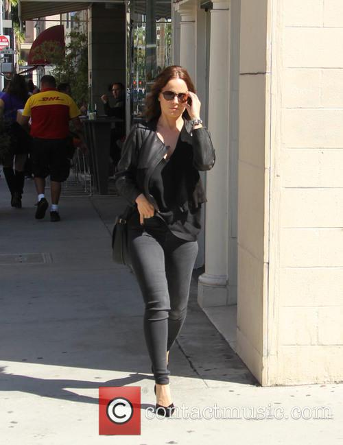 Mena Suvari out and about in Beverly Hills