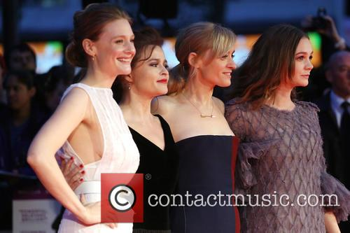 Romola Garai, Helena Bonham Carter, Anne-marie Duff and Carey Mulligan 2