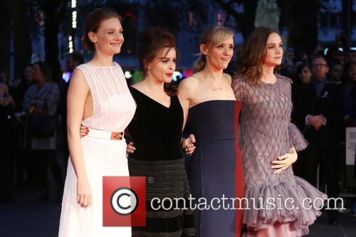 Romola Garai, Helena Bonham Carter, Anne-marie Duff and Carey Mulligan 1