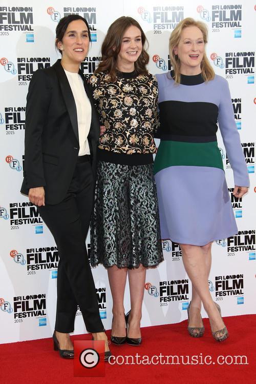 Sarah Gavron, Meryl Streep and Carey Mulligan 1