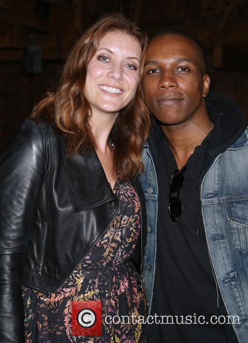 Kate Walsh and Leslie Odom Jr. 1