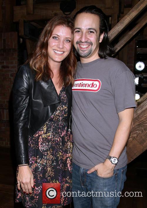 Kate Walsh and Lin-manuel Miranda 1