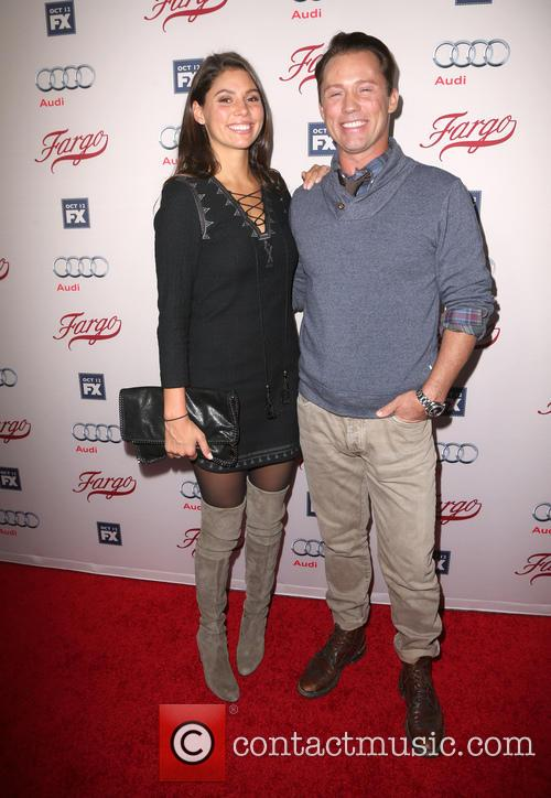 Jeffrey Donovan and Michelle Woods 2