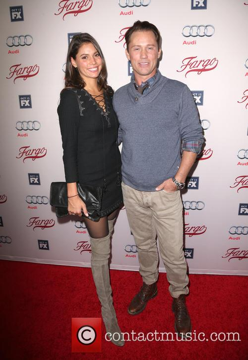 Jeffrey Donovan and Michelle Woods 6
