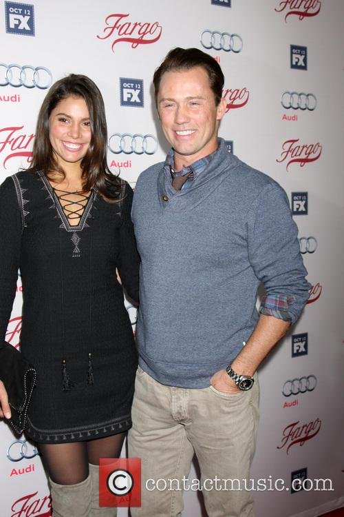 Jeffrey Donovan and Wife 2