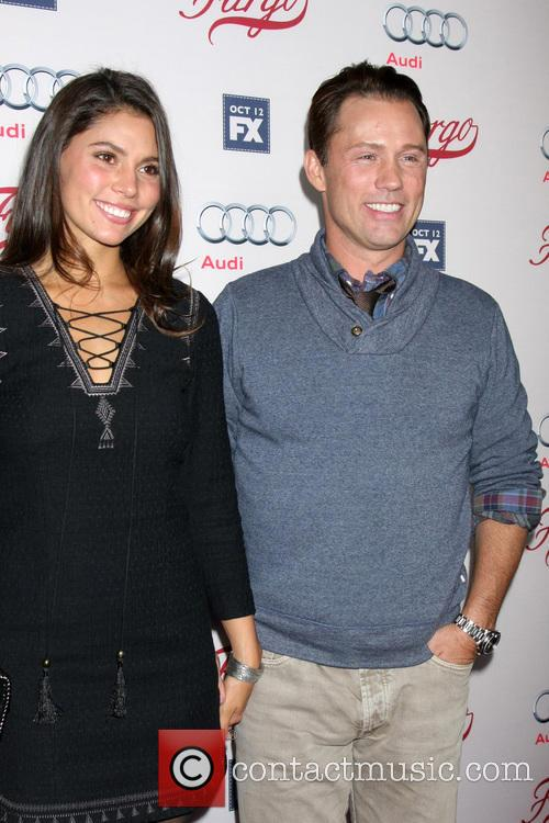 Jeffrey Donovan and Wife 3