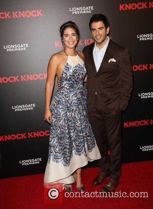 Lorenza Izzo and Eli Roth 3
