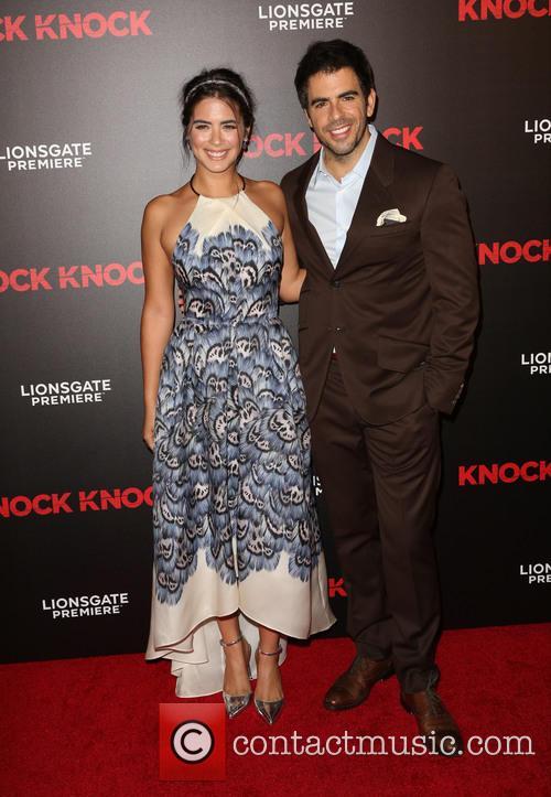 Lorenza Izzo and Eli Roth 4