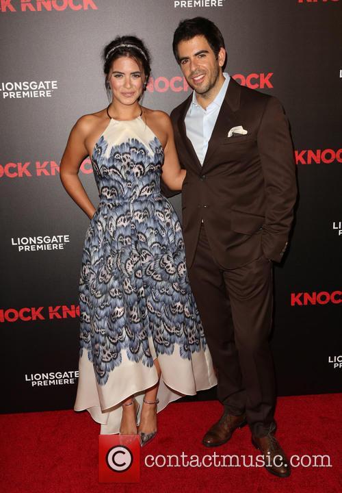 Lorenza Izzo and Eli Roth 1