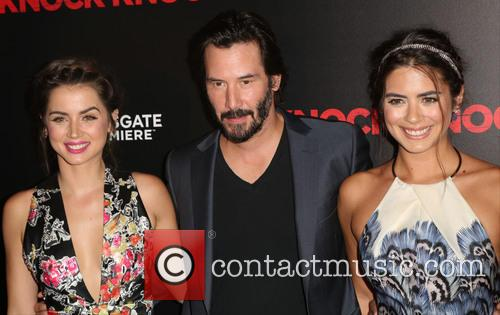 Ana De Armas, Keanu Reeves and Lorenza Izzo 3