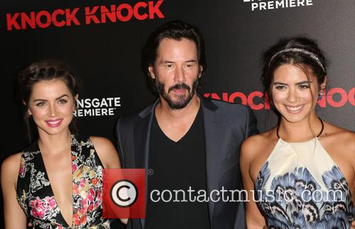 Ana De Armas, Keanu Reeves and Lorenza Izzo 8