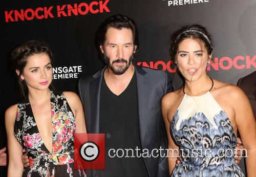 Ana De Armas, Keanu Reeves and Lorenza Izzo 11