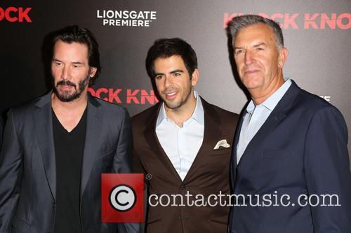 Keanu Reeves, Eli Roth and Guest 1