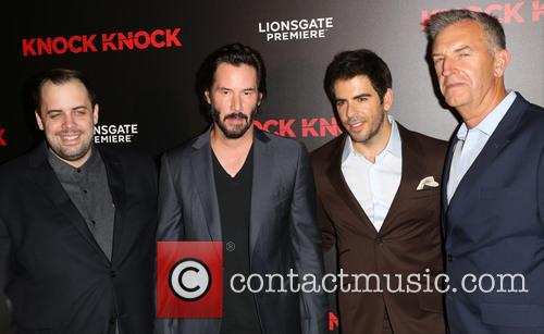 Guest, Keanu Reeves and Eli Roth 2
