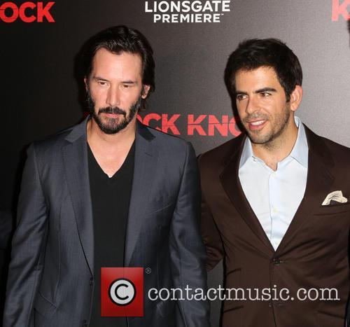 Keanu Reeves and Eli Roth 2
