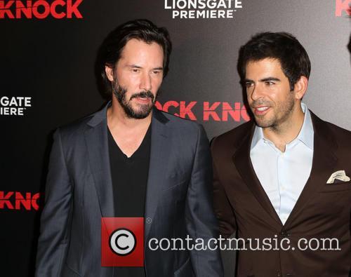 Keanu Reeves and Eli Roth 3