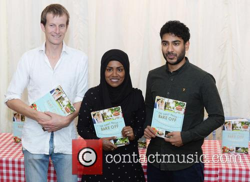 Ian Cummings, Nadiya Hussain and Tamal Ray 1