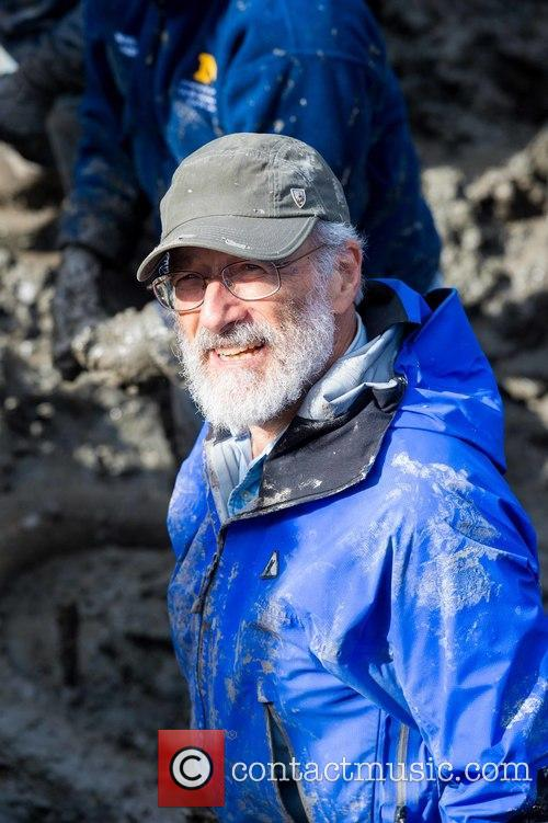 Daniel Fisher, Director Of The U-m Museum Of Paleontology, Leader Of The Dig Near Chelsea. Fisher Is A Professor In The Department Of Earth, Environmental Sciences, In The Department Of Ecology and Evolutionary Biology. 1