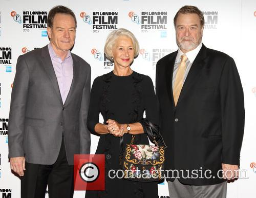 Bryan Cranston, Dame Helen Mirren and John Goodman 2