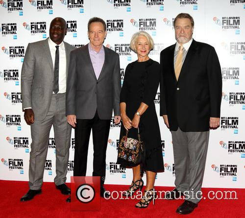 Adewale Akinnuoye-agbaje, Bryan Cranston, Dame Helen Mirren and John Goodman 1
