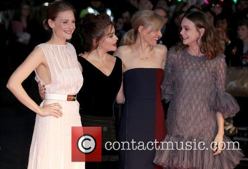 Ramola Garai, Helena Bonham Carter, Anne-marie Duff and Carey Mulligan 2